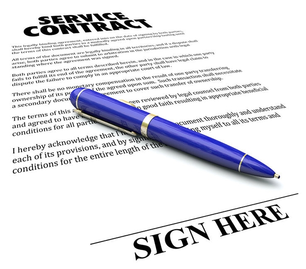 Benefits of a Service Agreement
