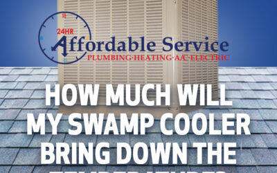 How Much Will My Swamp Cooler Bring The Temperature Down?